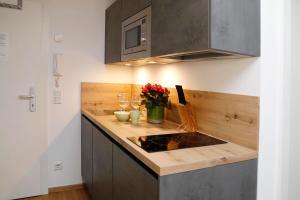 Küche/Küchenzeile in der Unterkunft Apartments Ante Portas