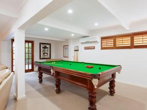 A pool table at Beauty and the Beach', 88 Foreshore Drive - large home with WIFI & water views