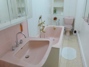 A bathroom at Apartment Le Caneton-1