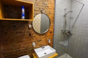Ванная комната в Lounge&Smile on Rubinshteina