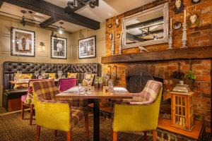 A restaurant or other place to eat at The Feathers Hotel, Ledbury, Herefordshire