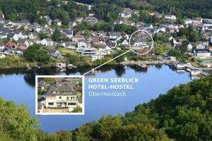 A bird's-eye view of Green Seeblick Hotel und Apartments