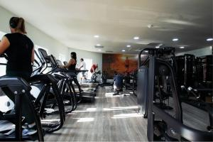 The fitness center and/or fitness facilities at Birmingham North Moor Hall Hotel, BW Premier Collection