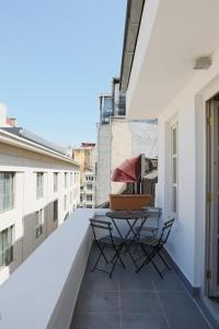 A balcony or terrace at Chiconomy Suites