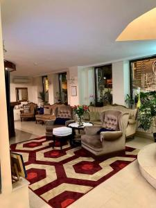 The lobby or reception area at Hi Boutique Hotel