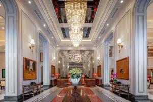 The lobby or reception area at Silk Path Grand Hue Hotel & Spa