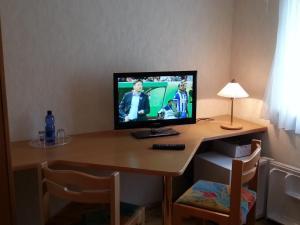 TV/Unterhaltungsangebot in der Unterkunft Gästehaus Ströter