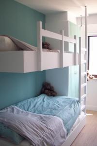 Un ou plusieurs lits superposés dans un hébergement de l'établissement Westrand