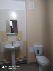 Ванная комната в Гостиница Единство