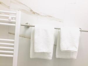 Ein Badezimmer in der Unterkunft Hotel Freese GmbH
