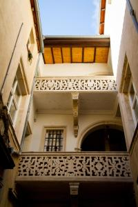 A balcony or terrace at Appartement Rennel