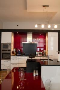 A kitchen or kitchenette at Appartement Rennel