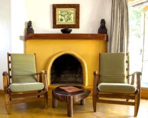 A seating area at Kigongoni Lodge Arusha