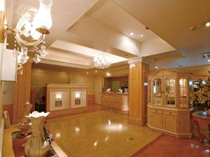 The lobby or reception area at Hotel Fine Garden Juso (Adult Only)