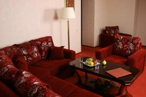 A seating area at Sheremetev Park Hotel