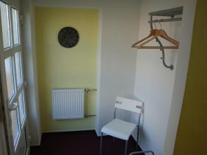 A bathroom at Apartmán Wolkrovka