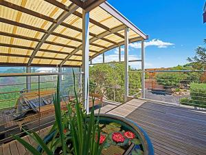 A balcony or terrace at Diamond View