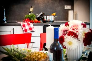 A kitchen or kitchenette at Nel Centro City Apartment