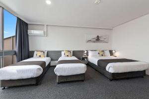 A room at Comfort Hotel Bayside