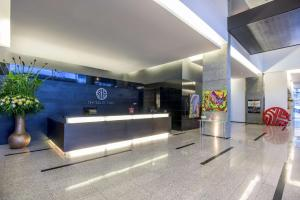 The lobby or reception area at NH Collection Medellin Royal