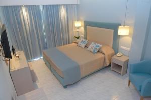 Ένα δωμάτιο στο Odysseus Hotel