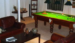 A pool table at Dingley Dell