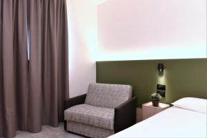 A seating area at Hotel Casa Del Pellegrino