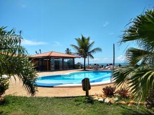 The swimming pool at or near Pousada Do Mar