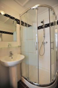 A bathroom at Chambres d'Hôtes La petite Salamandre