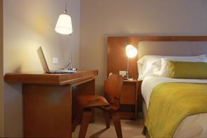 Cama o camas de una habitación en Dazzler by Wyndham Montevideo