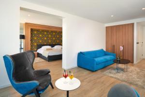 A room at Amphora Hotel