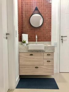 A bathroom at Temporada Golden Lake
