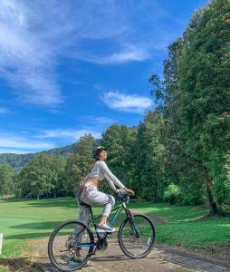 Cycling at or in the surroundings of Handara Golf & Resort Bali