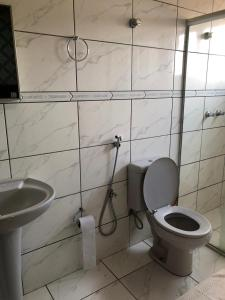 A bathroom at Residence Hotel