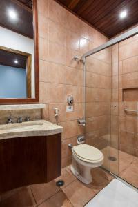 A bathroom at Hotel Giprita