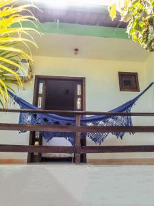 A porch or other outdoor area at Pousada Coqueiro do Caitá