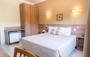 Um quarto em Guararema Parque Hotel