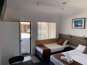 A room at Baths Motel Moree