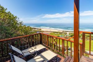 A balcony or terrace at Boardwalk Lodge – Self-Catering