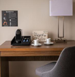 Coffee and tea making facilities at Palazzo Lakeside Hotel, a Magic Moment Hotel Collection