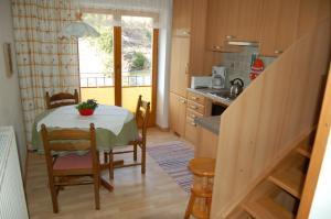 A kitchen or kitchenette at Landhaus St. Rupert
