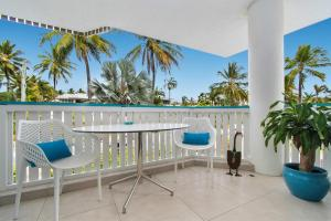 A porch or other outdoor area at By The Sea Port Douglas