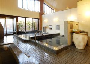 The swimming pool at or near Resort Inn Fuyo Kawaguchiko Inter