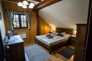 Pokoj v ubytování Bosorka Apartments Zrub Mara