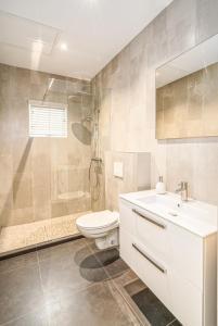 Um banheiro em Villa Zarza