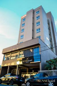 The facade or entrance of Sense Hotel Premium