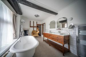 A kitchen or kitchenette at The Billesley Manor Hotel