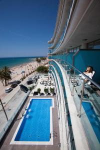 Vista de la piscina de Hotel Allon Mediterrania o alrededores