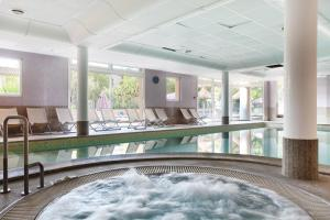 Spa and/or other wellness facilities at Résidence Odalys La Licorne de Haute Provence