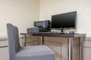 A television and/or entertainment center at Quality Inn and Suites